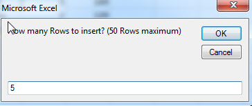 insert multiple rows or columns12