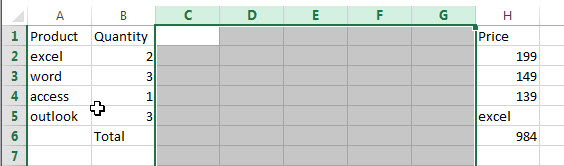 insert multiple rows or columns6