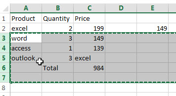insert multiple rows or columns7