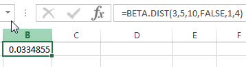 excel beta.dist example2