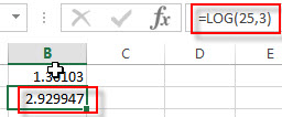 excel log examples2