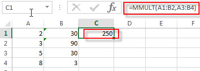 excel mmult examples1