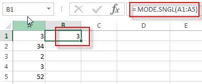 excel mode.sngl examples1