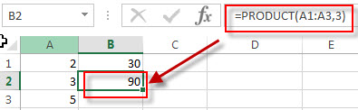 excel product example2