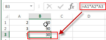 excel product example3