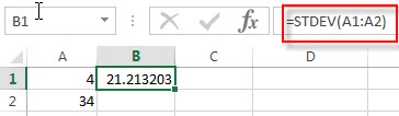 excel stdev examples1