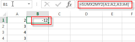 excel sumx2my2 examples1