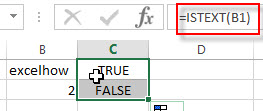 excel istext examples1