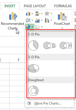 excel pie chart2