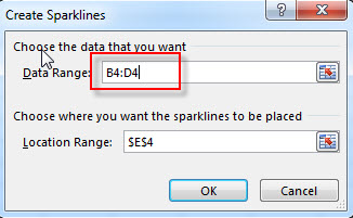 excel win loss sparkline2