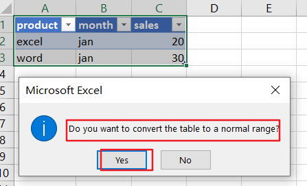 convert data to table7