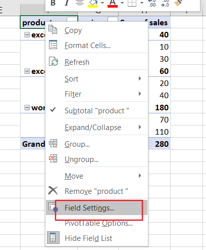 repeat row lables in pivot table6