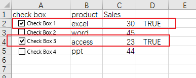 count or sum cells with checked box3
