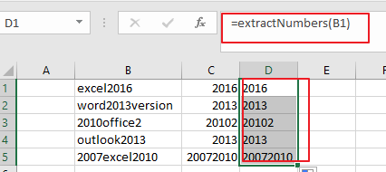 extract number from text string3