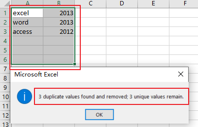 remove duplicate rows4