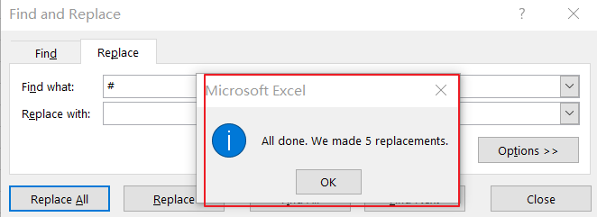 remove specific character from text string4