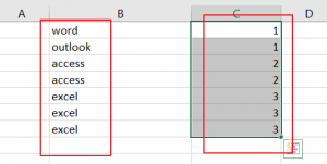 sort column by occurrence count4