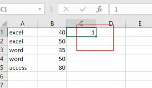 conditional format rows by group1