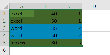 conditional format rows by group8