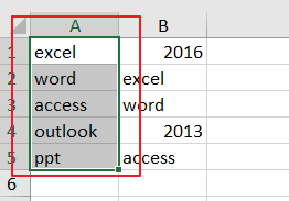highlight cell if same value exists in another column1