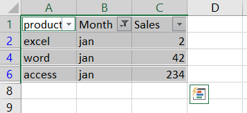 paste cells into filtered column or row2