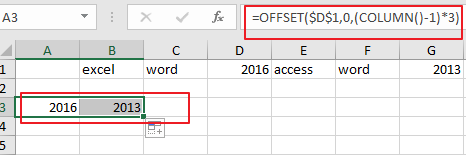 increase cell reference by x rows2