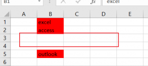 remove conditial formatting on blank cell6