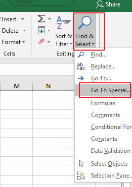 How to Copy visible cells only in excel2