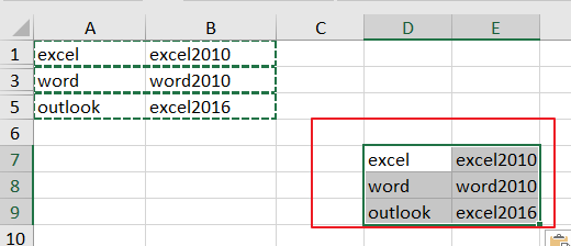 How to Copy visible cells only in excel6