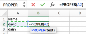 How to convert text case into uppercase or lowercase in Excel 5