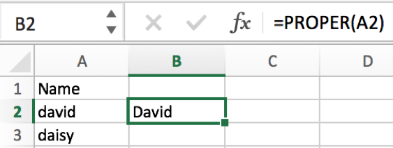 How to convert text case into uppercase or lowercase in Excel 6