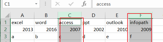 Select and Copy Cell Values from Every Nth Column in Excel5
