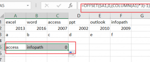 Select and Copy Cell Values from Every Nth Column in Excel6
