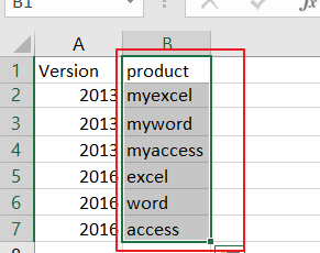 convert text case into uppercase or lowercase in Excel 8