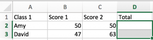 How to Do Same Calculation for a Same Range in Multiple Sheets in Excel 4