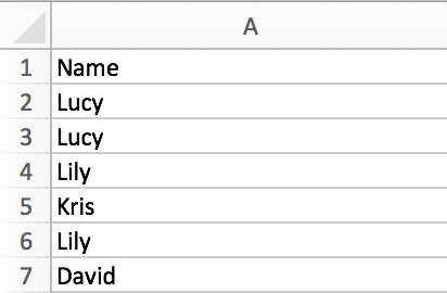 How to extract unique values from list and remove the duplicates in Excel 1