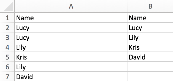 How to extract unique values from list and remove the duplicates in Excel 6