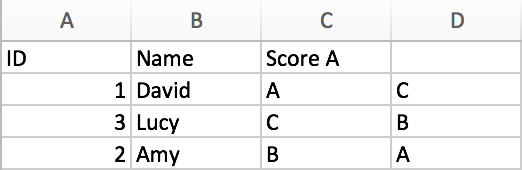 Merge Tables from different Sheets 11