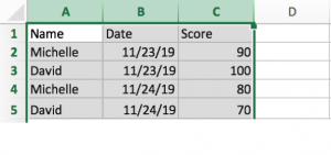 Move or Update Entire Row & Column Data 18