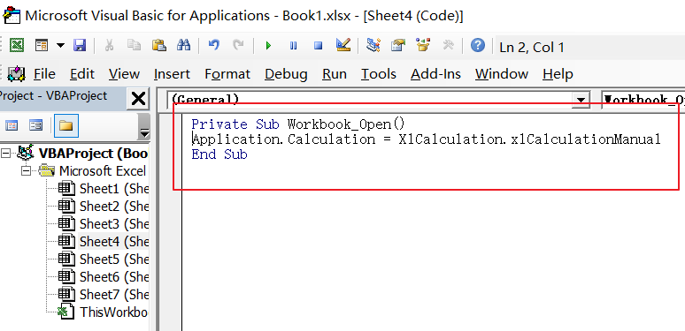 Stop Auto Calculation in Excel10