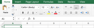 How to Fill a Sequence Number and Repeat Them in Excel 1