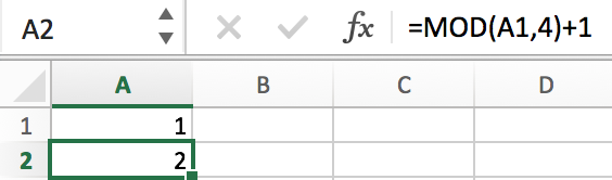 How to Fill a Sequence Number and Repeat Them in Excel 10