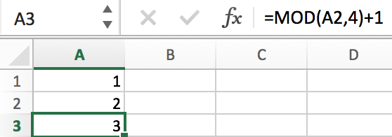 How to Fill a Sequence Number and Repeat Them in Excel 11
