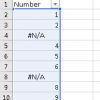 Ignore #NA in Excel 4