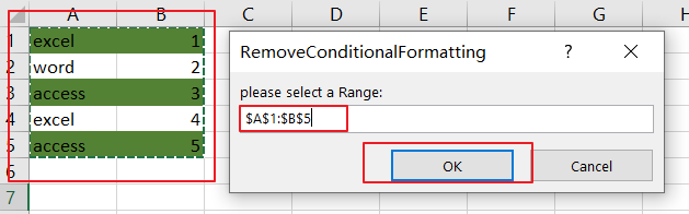 Remove or Delete Conditional Formatting5