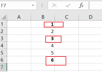 Sum Only Numbers in Bold in a Range of Cells1