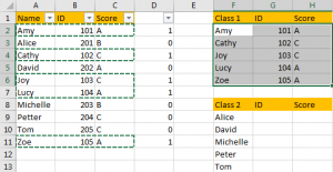 Filter Data Based on Another List 11