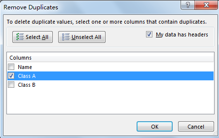Find and Remove Duplicate Data 12