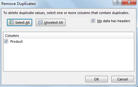 Find and Remove Duplicate Data 7