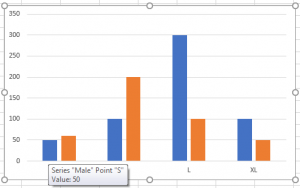 Insert A Chart with Data lists in Different Range 17